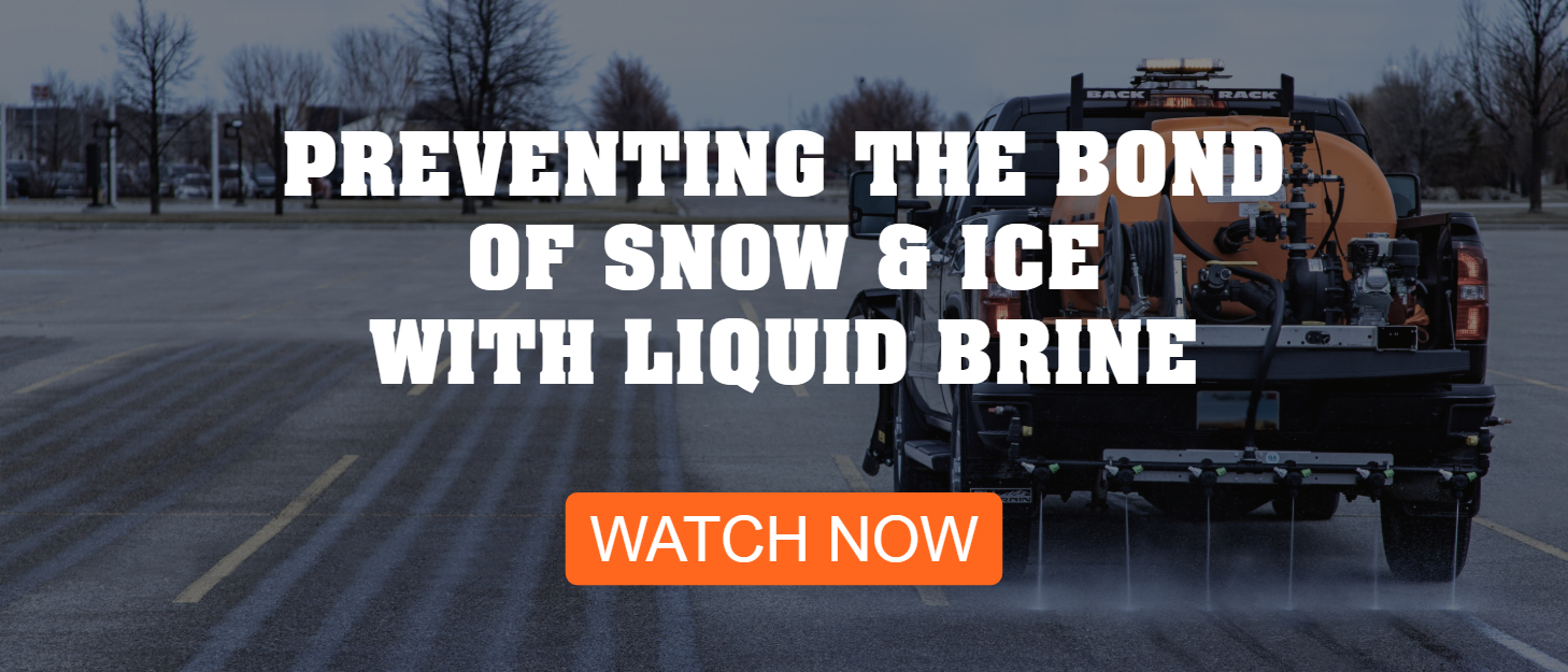 Preventing the bond of snow and ice with liquid brine - CTA