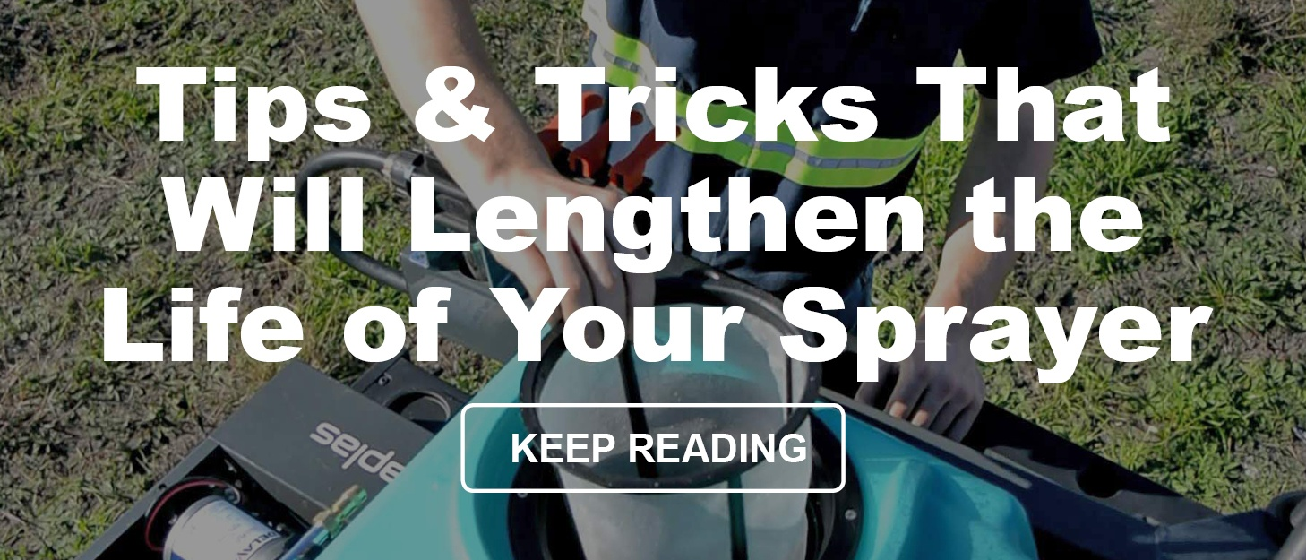 Tips & Tricks That Will Lengthen the Life of Your Sprayer
