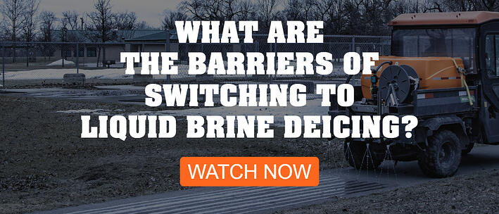 What are the barriers of switching to liquid brine deicing - CTA