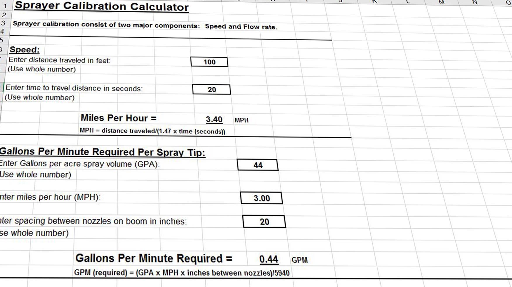 Worksheets Sprayer Calibration Worksheet calibrating a sprayer 4 of the best apps calculators and worksheets 7 jpg