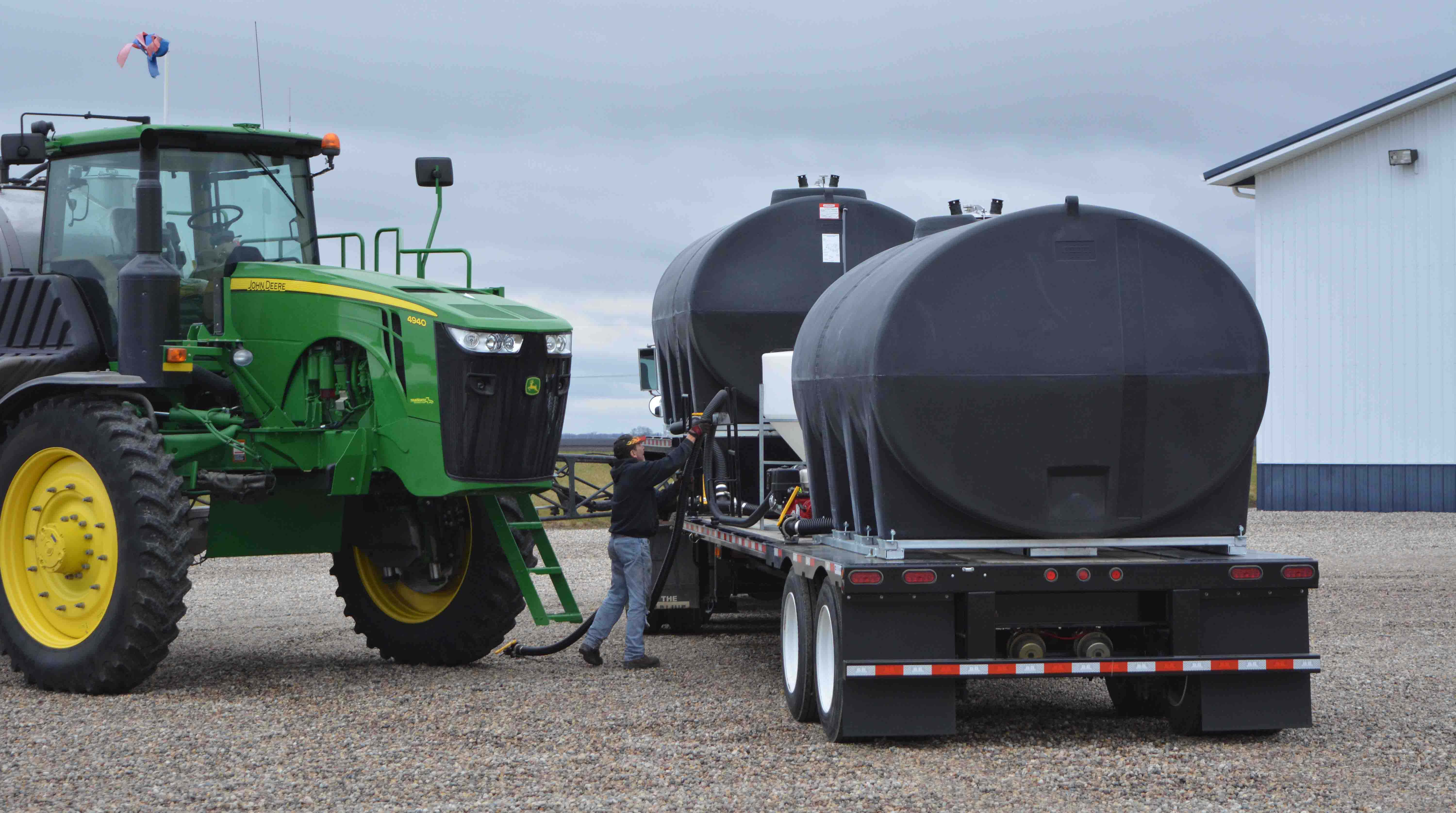Helpful Ideas for Setting up your Tender Tank Trailer